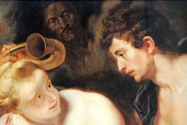 Rubens, Méléagre et Atalante, 124,3x101,3 cm, 1615, Kassel, Gemäldegalerie Alte Meister