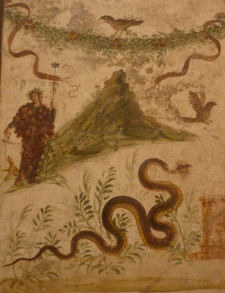 Dionysos botrys («Dionysos-Grappe») ou Bacchus et le Vésuve, 1er s., Naples, Musée archéologique. Photo O.O.